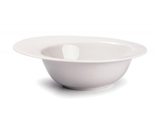 Tunisie Porcelaine Asymetrique Салатник/супница с бортом 220мл, 17,5х14,2х5см