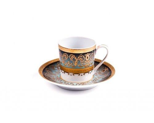 Tunisie Porcelaine Mimosa Prague Degrade 1643 набор кофейных пар на 6 персон