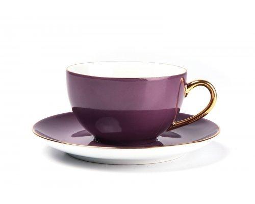 Tunisie Porcelaine Monalisa Rainbow Or 3124 набор чайных пар 220мл. на 6 персон