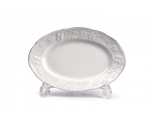 Tunisie Porcelaine Vendange Filet Platine Блюдо овальное, 28 см