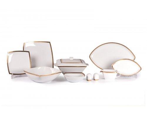 Tunisie Porcelaine Kyoto Saint Germain Or 1555 столовый сервиз на 6 персон 25 предметов золото