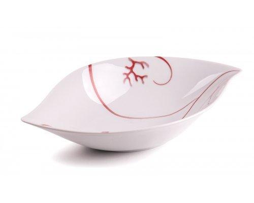 Tunisie Porcelaine Feuille Corail 544 блюдо глубокое, Д27