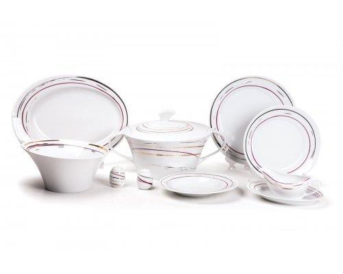 Tunisie Porcelaine Asymetrique Traces 1669 столовый сервиз на 6 персон 25 предметов