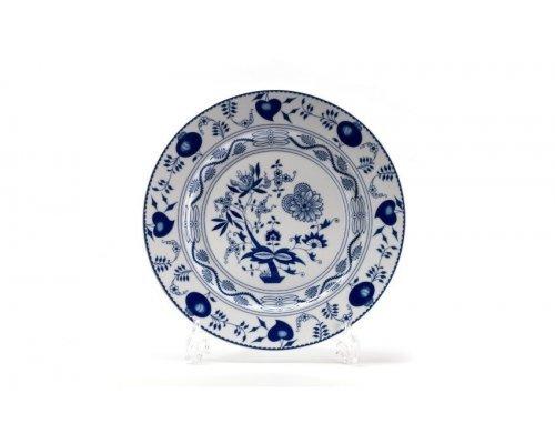 Тарелка десертная Д 22см Tunisie Porcelaine Синий Лук 1313