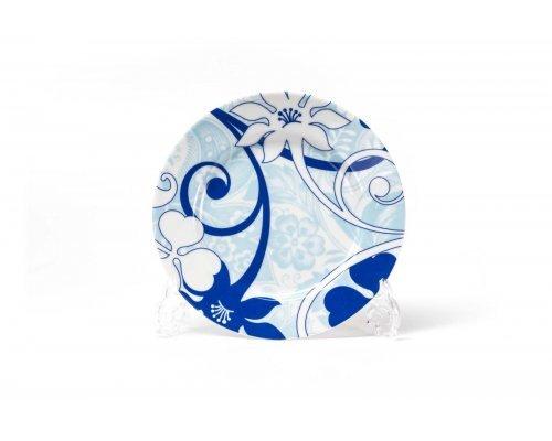 Набор десертных тарелок 19см 6шт/уп Tunisie Porcelaine Mimosa Bleu Sky 2230