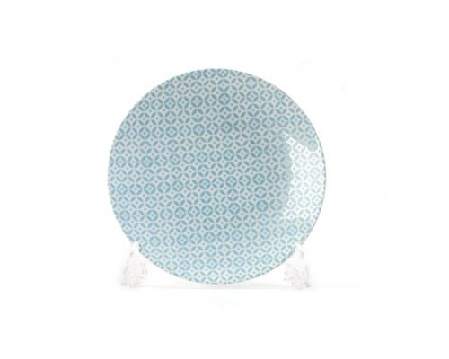 Тарелка 21 см Tunisie Porcelaine Голубой Витон