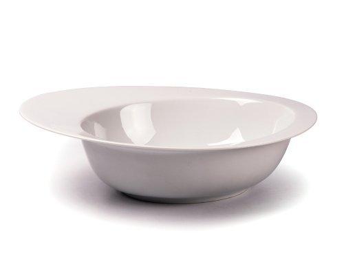 Tunisie Porcelaine Asymetrique Салатник/супница с бортом 400мл, 21,7х17,6х5,5см