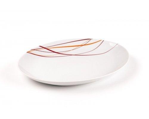 Tunisie Porcelaine Monalisa Spirales 540 блюдо маленькое, 23х12.5см.