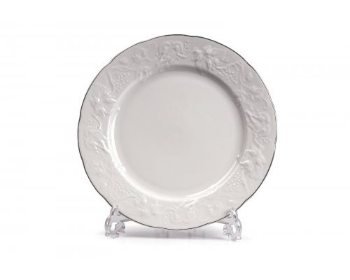 Tunisie Porcelaine Vendange Filet Platine Тарелка 21 см