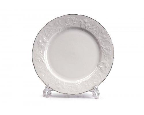 Tunisie Porcelaine Vendange Filet Platine Тарелка 21 см