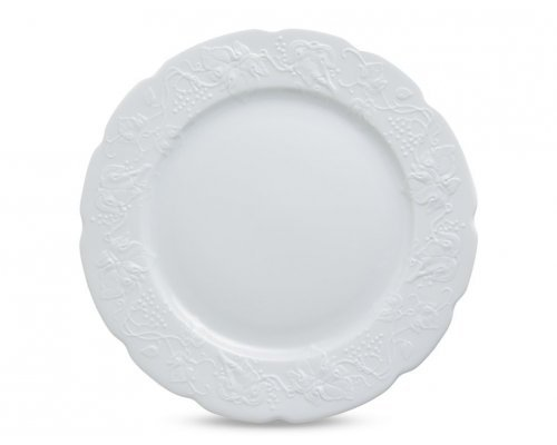 Тарелка плоская 26 см. BLANC Vendange MAT