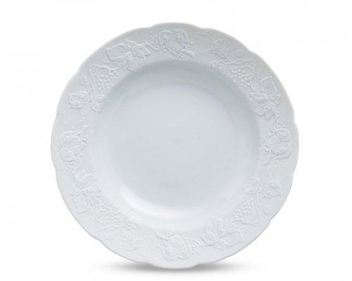 Тарелка глубокая 22 см. BLANC Vendange MAT