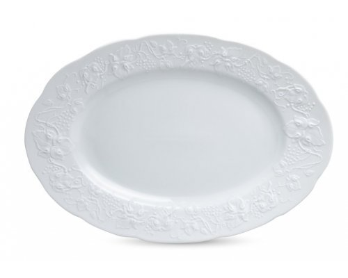 Блюдо 36 см BLANC Vendange MAT