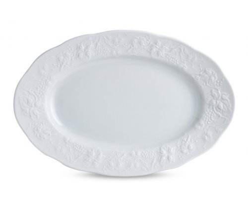 Блюдо 24 см. BLANC Vendange MAT