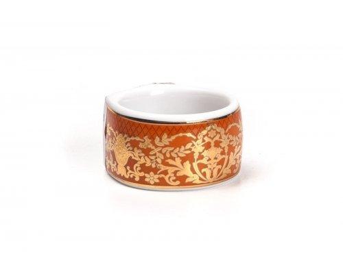 Tunisie Porcelaine Mimosa Didon Orange 1642 Кольцо для салфеток Д4см