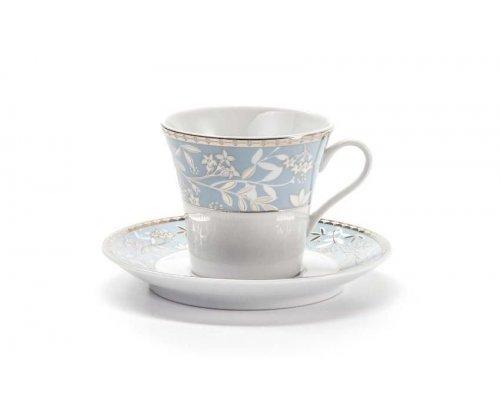 Набор чайных пар на 6 персон 12 предметов Tunisie Porcelaine Classe 1596
