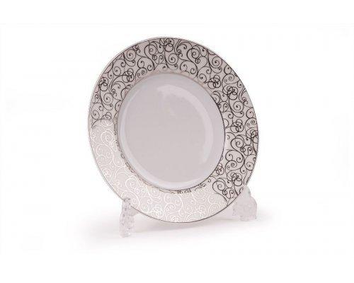 Tunisie Porcelaine Isis Orient Platine 1672 набор тарелок 25см., на 6 персон