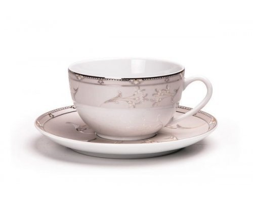 Tunisie Porcelaine Isis Mugets Du Paradie 1558 набор чайных пар 200 мл на 6 персон