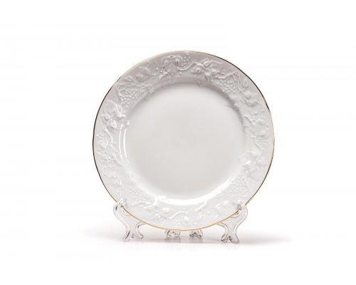 Tunisie Porcelaine Vendange Filet Or Тарелка десертная, 16 см