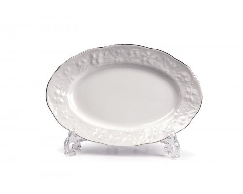 Tunisie Porcelaine Vendange Filet Platine Блюдо овальное, 24 см