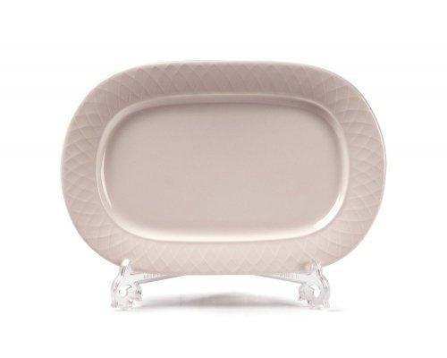 Tunisie Porcelaine Grand siegle Блюдо овальное Д 28,7х18,7см