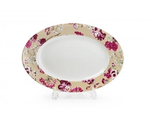 Блюдо овальное 35см Tunisie Porcelaine Mimosa Liberty 2150