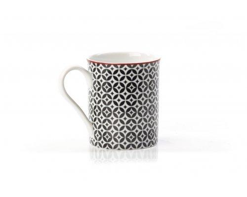 Кружка 300 мл Tunisie Porcelaine Черный Витон