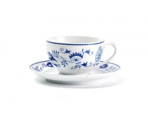 Чайная пара 200 мл Tunisie Porcelaine Синий Лук 1313