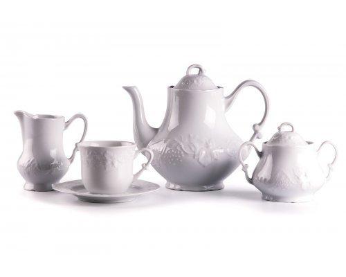 Tunisie Porcelaine Vendange cервиз чайный на 6 персон 15 предметов