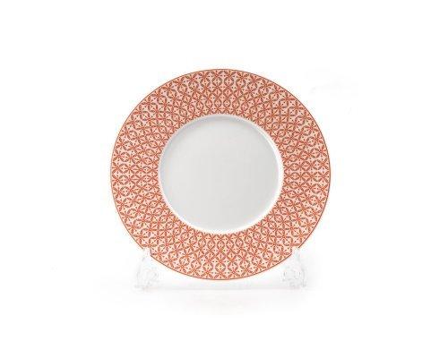 Тарелка 21 см Tunisie Porcelaine Ажур