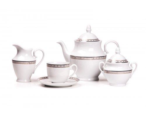 Tunisie Porcelaine Tanit Signature 1515 чайный сервиз на 6 персон 15 предметов