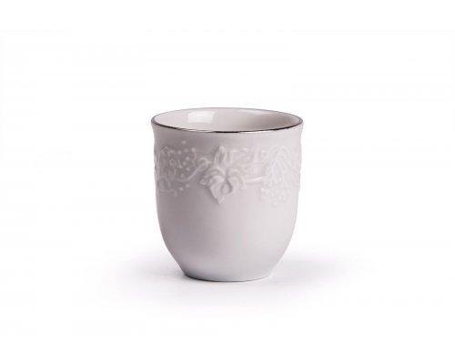 Tunisie Porcelaine Vendange Filet Platine Стаканчик для зубочисток