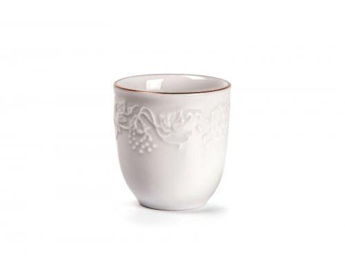 Tunisie Porcelaine Vendange Filet Or Стаканчик для зубочисток