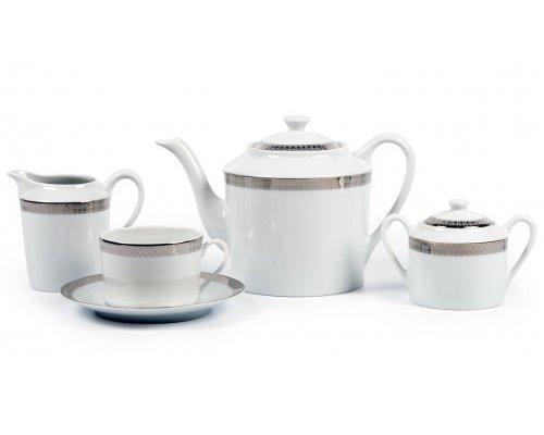 Сервиз чайный на 12 персон 27 предметов FAST PLATINE