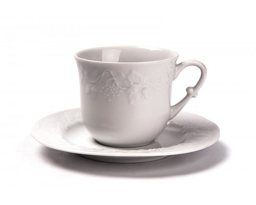 Tunisie Porcelaine Vendange набор чайных пар 200 мл на 6 персон 12 предметов