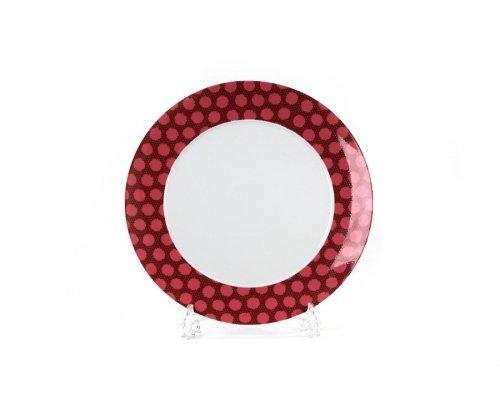 Блюдо круглое 31 см Tunisie Porcelaine Isis Малина 2255