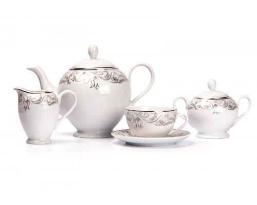 Tunisie Porcelaine Isis 1589 чайный сервиз на 6 персон 15 предметов