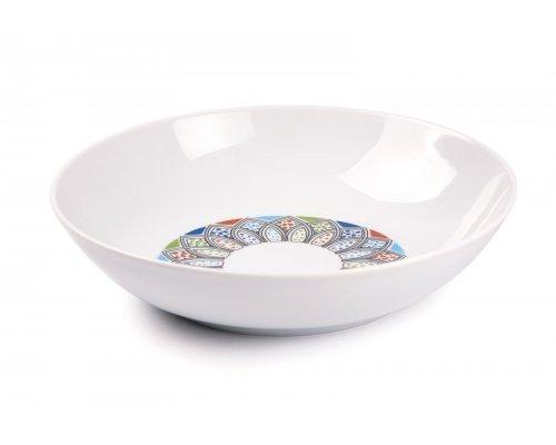 Tunisie Porcelaine Восточный декор 2094 тарелка глубокая 21 см.