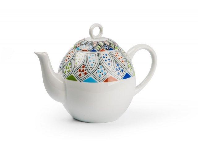 Чайник заварочный 1 л Tunisie Porcelaine Восточный декор 2094
