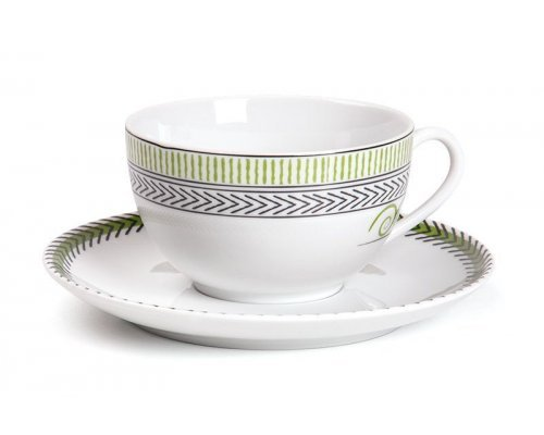 Tunisie Porcelaine Monalisa Beaux Arts 994 набор чайных пар 210 мл. на 6 персон