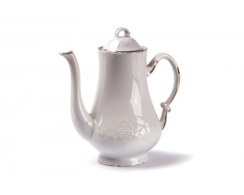 Кофейник Tunisie Porcelaine Vendange Filet Or 1.3 л