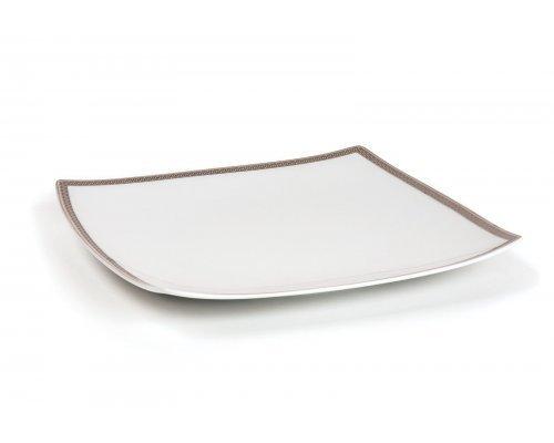 Tunisie Porcelaine Kyoto Saint Germain Platine 1554 набор тарелок 26 см. на 6 персон