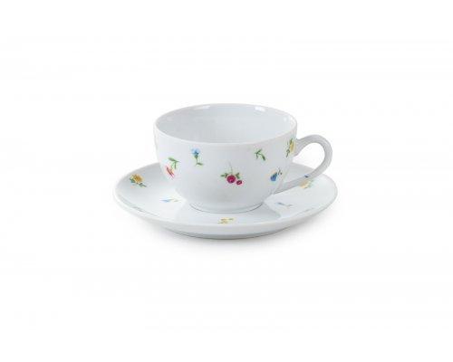 Чайная пара 200 мл Английский сад