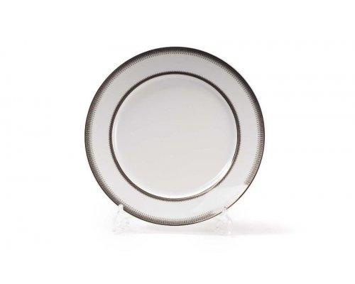 Набор тарелок 27см 6шт Tunisie Porcelaine Princier Platin 1801