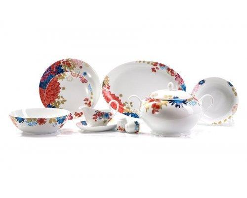 Сервиз столовый 25 пр Tunisie Porcelaine Ilionor 2227