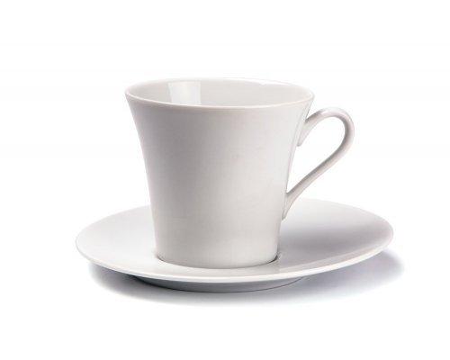 Tunisie Porcelaine Asymetrique Чайная пара 200мг, Д 8 х Н8,5см