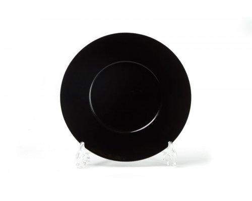 Тарелка 27см Tunisie Porcelaine Putoisage noir 3063
