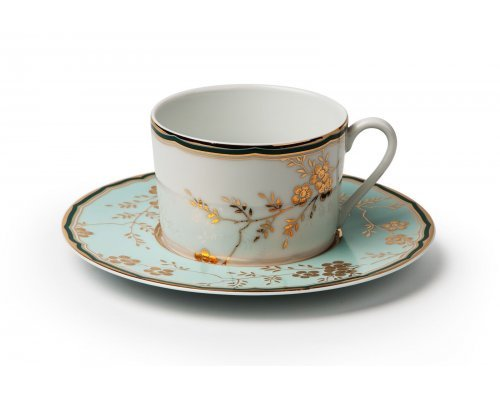 Tunisie Porcelaine Zen Belle epoque 2130 набор чайных пар на 6 персон