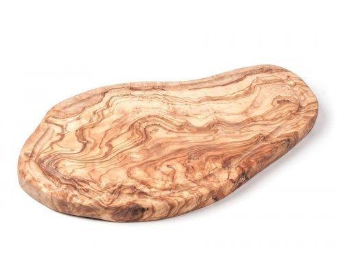 Доска 35см желобком из оливкового дерева Tunisie Porcelaine