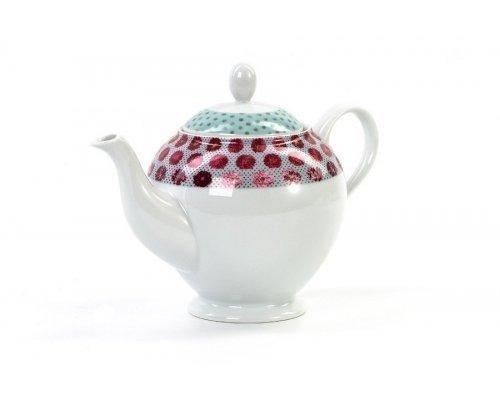 Чайник 1,2 л Tunisie Porcelaine Isis Малина 2255